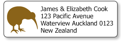 kiwi return address labels