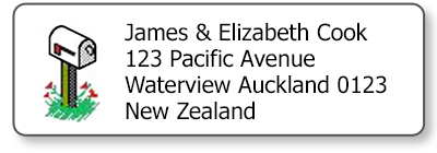 mailbox return address labels