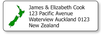 nz map return address labels