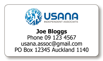 USANA address labels